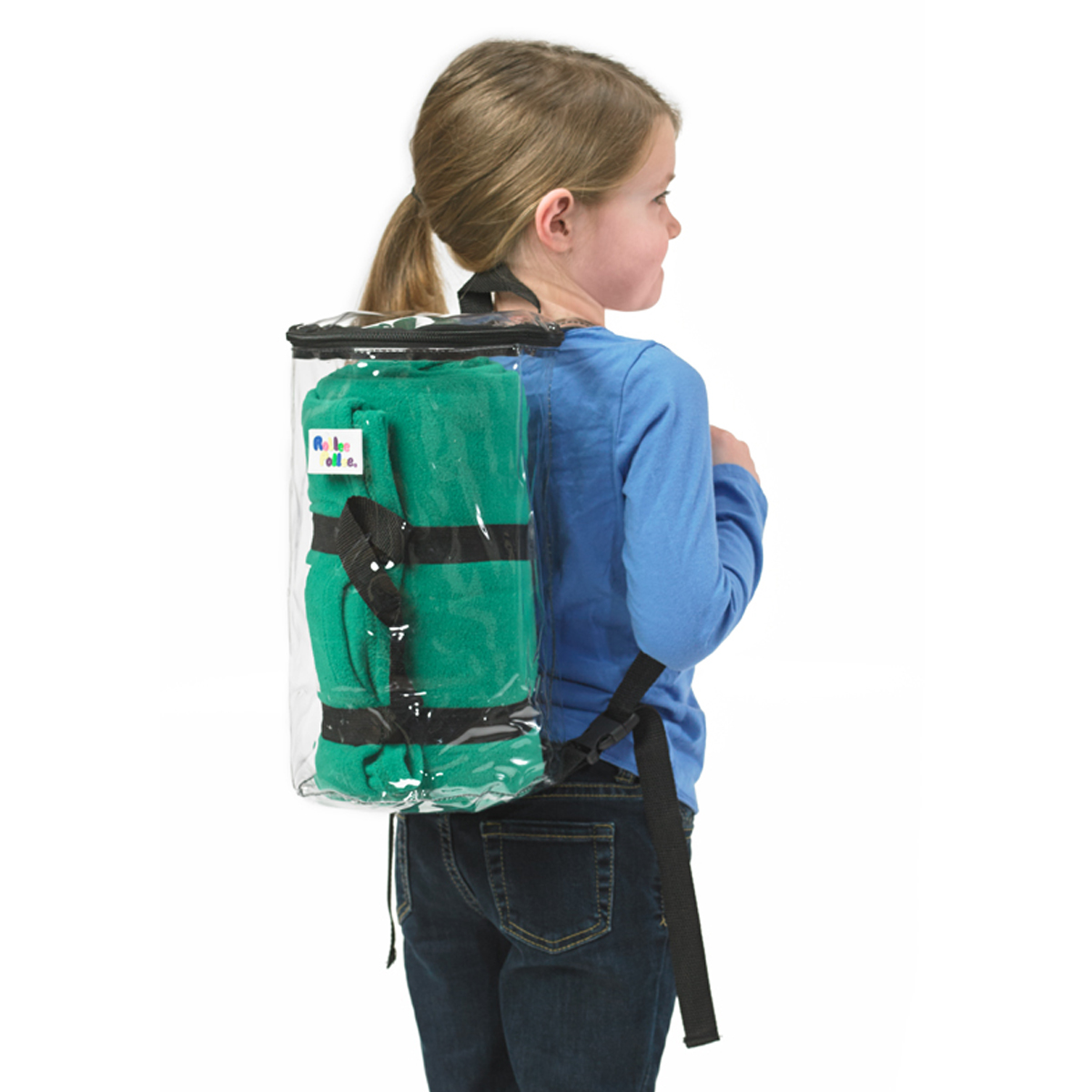 Backpack Pillow Rollee Pollee Nap Sac Green Nap Mat Cover Pillow Blanket