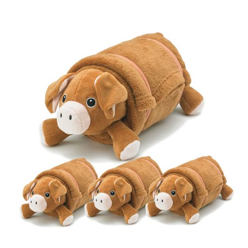 rollee-pollee-pets-brown-pig-4-pack