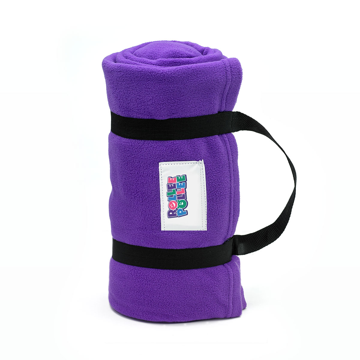 Rollee Pollee Nap Sac Purple Nap Mat Cover Pillow Blanket
