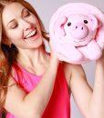 pink-pig-blanket-new-girl